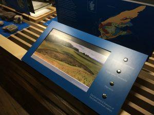 Interactive screen - New Lanark