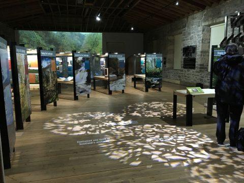 Shaping the Landscape exhibition - New Lanark